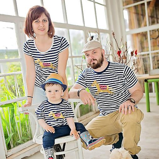 Rodinné tričká (Koník zlatý)