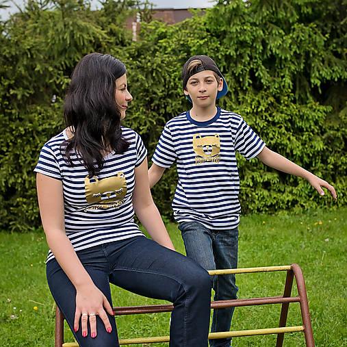 Rodinné tričká (Macko zlatý)