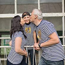 Tričká - Rodinné tričká (Macko zlatý) - 6784563_