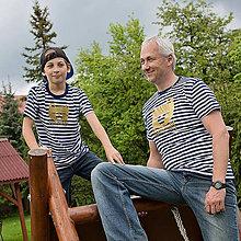 Tričká - Rodinné tričká (Macko zlatý) - 6784624_