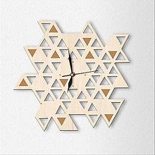 Hodiny - Dekoračné hodiny Triangle - 6786202_
