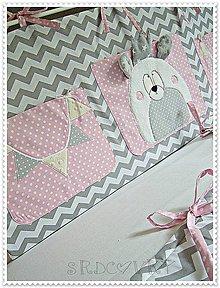 Textil - Vreckár do postieľky - 6786691_