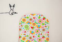Textil - Obojstranná podložka do kočíka - 6788778_