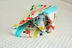 Úžitkový textil - Autíčková podložka do kočíka - 6788825_