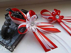 Pierka - svadobné pierko pre rodičov,svedkov - 6788440_
