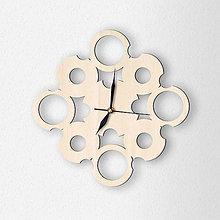 Hodiny - Nástenné hodiny vzor Rings - 6790035_
