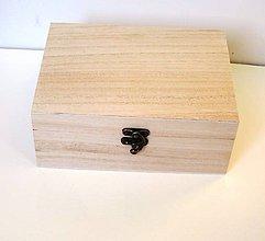 Polotovary - P2/ Krabica 6 prieč. antické zapínanie - 6790053_