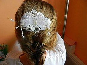 Iné šperky - Hrebienok svadobný - 6789944_