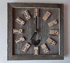 Hodiny - Nástenné hodiny Stodola (Drewomil) - 6792945_