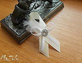 Pierka - svadobné pierka s perím - 6790504_