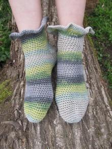 Obuv - Bavlnené ponožky - 6657395_