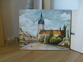 Obrazy - Prešovské námestie - 6791573_