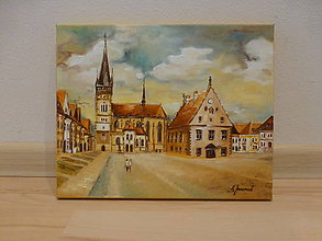 Obrazy - Bardejovské námestieII - 6791589_