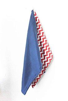 Textil - _BUVI... CiK CaK Červená & Modrá... deka pre najmenších ♥ - 6795798_
