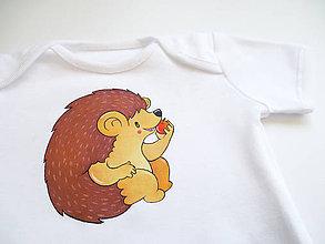 Detské oblečenie - Body ježko - 6793799_
