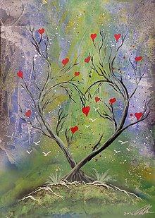 Obrazy - Ľúbezný strom. - 6793719_