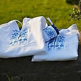 Detské oblečenie - Detská folk košeľa modrá - 6793307_
