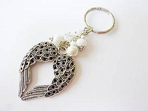 Kľúčenky - Anjelský prívesok na kabelku, kľúče.... - 6793599_