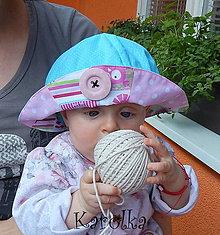 Detské čiapky - Klobúčik pre deti - Ružový zľava z 9,50 na 5,50€ - 6796257_