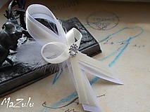 Pierka - svadobné pierka s perím - 6796301_