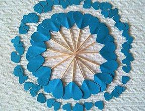Papiernictvo - Zápichy a konfety - modré - 6794426_