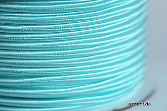Galantéria - sutaška tyrkysová svetlá A058 - 6795898_