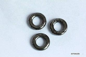 Minerály - pyritové krúžky - 6796055_