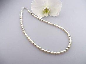 Náhrdelníky - pravé perly náhrdelník - 6794999_