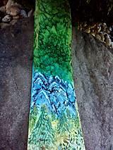 Doplnky - Lesný pôžitok- hodvábna kravata so srncom - 6794701_