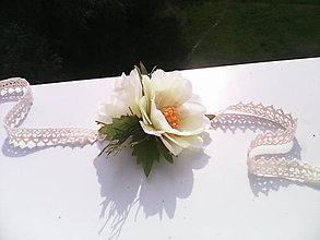 """Náramky - Kvetinový náramok """"Slnečný deň..."""" - 6794599_"""
