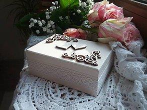 Krabičky - Svadobná krabička pre Martinku. - 6795722_