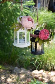 Svietidlá a sviečky - Romantické svietniky - 6797683_