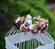 Ozdoby do vlasov - AKCIA venček by michelle flowers - 6797263_