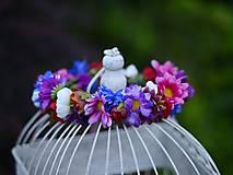 Ozdoby do vlasov - venček by michelle flowers - 6797270_