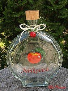 Darčeky pre svadobčanov - Stužka - Špagátik a jabĺčko - 6800308_