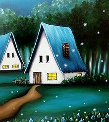 Obrazy - Noc keď sa všetky sny splnia... - 6798842_