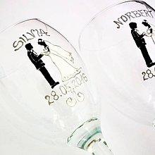 Nádoby - Svadobné poháre