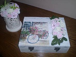 Krabičky - Šperkovnica Romantická.... - 6797649_