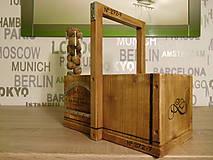 vintage drevená debnička (bednička) 2h