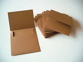 Papiernictvo - prírodný obal na CD - 6797632_