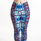 Nohavice - Farebné elastické legíny s motívom autorského obrazu: Bob Marley - 6798699_