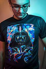 - Zľava 50% !! Pánske tričko Darth Vader - 6798775_