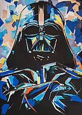 - Print A3 z originál obrazu Darth Vader II. - 6798883_