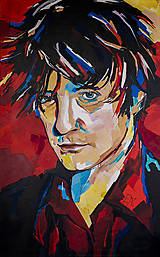 - Výpredaj 60%: Print A3 z originál obrazu Dylan Moran - 6798885_