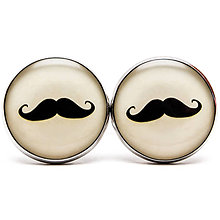 Šperky - Fúziky - Mustache - 6799777_
