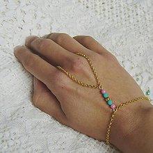 Náramky - Hand chain 12 - 6801069_