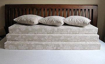 Úžitkový textil - posedieť pri hortenziách... - 6797912_