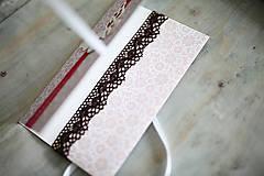 Papiernictvo - Scrapbook obálka na peniaze - motýľ - 6802925_