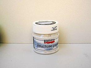 Farby-laky - Štruktúrovacia pasta biela 50 ml - 6801557_