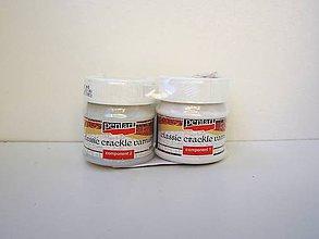 Farby-laky - Krakelovací lak dvojfázový 2x50 ml - 6801579_